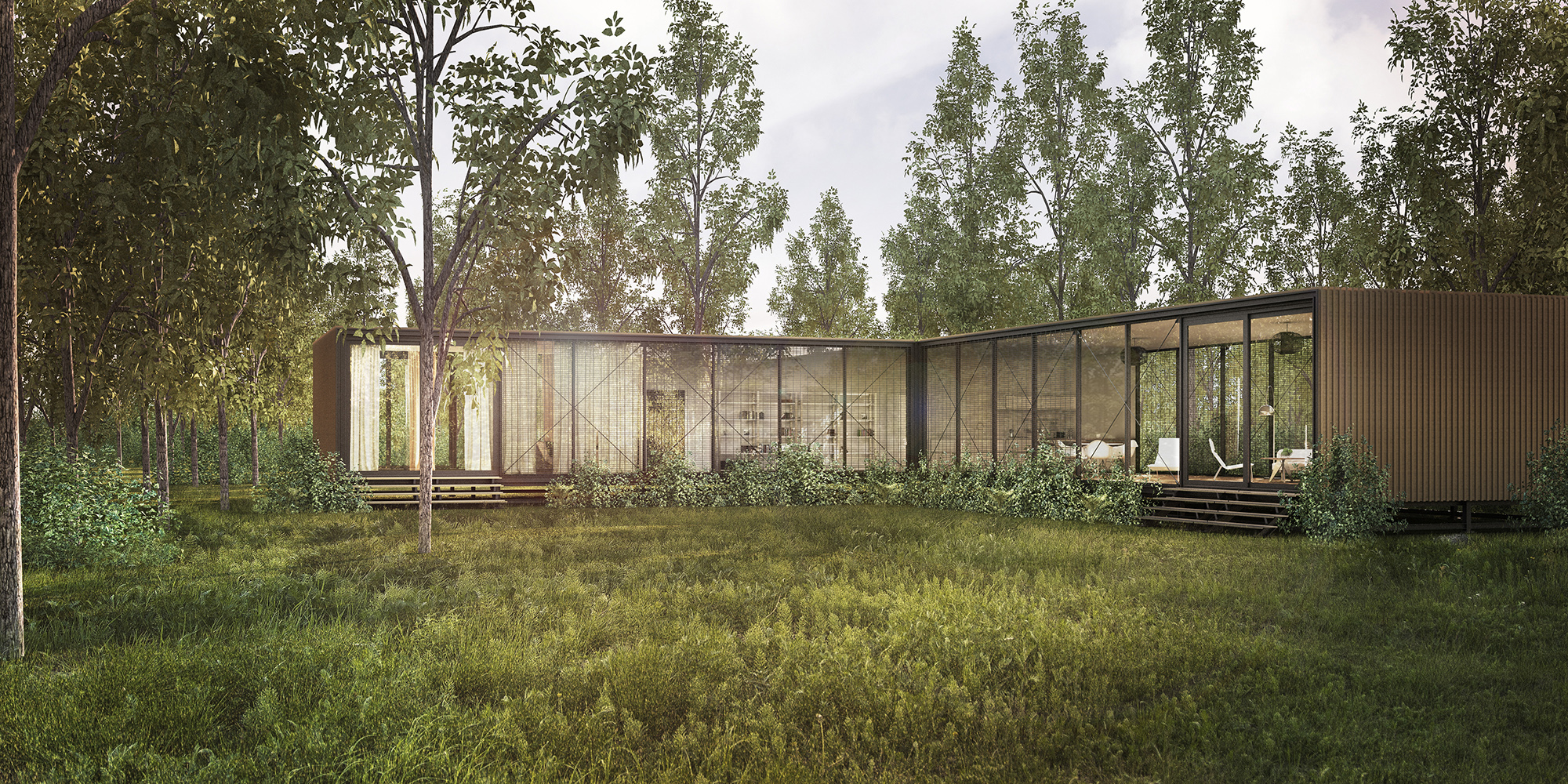 Forest house vmavi for Forest house