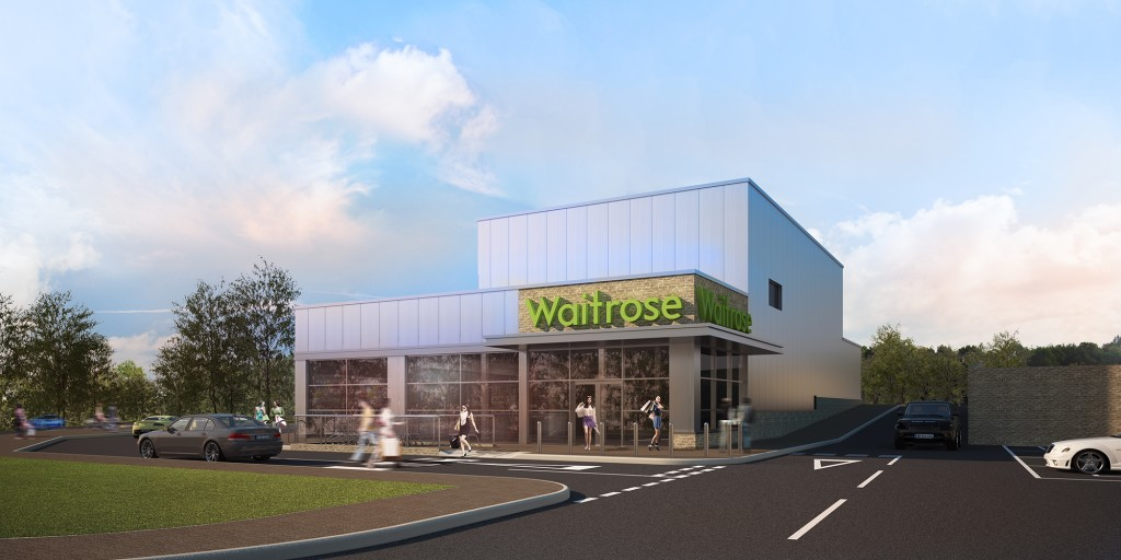 architectural visualisation london waitrose 1