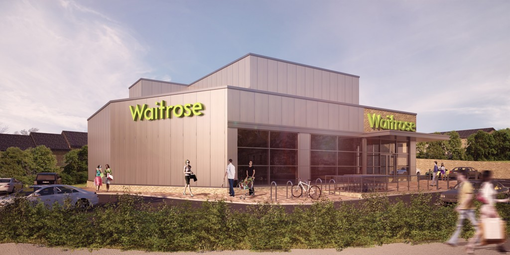 architectural visualisation london waitrose 2