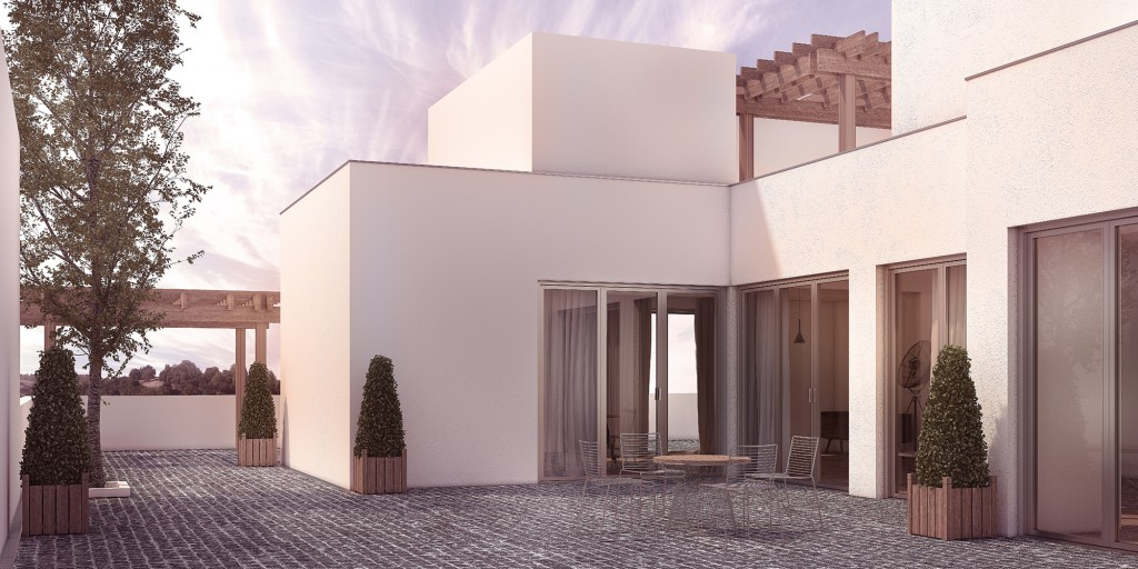 architectural visualisation london casa blanca 1