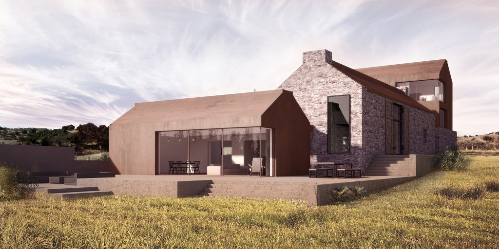 architectural visualisation london parc barn