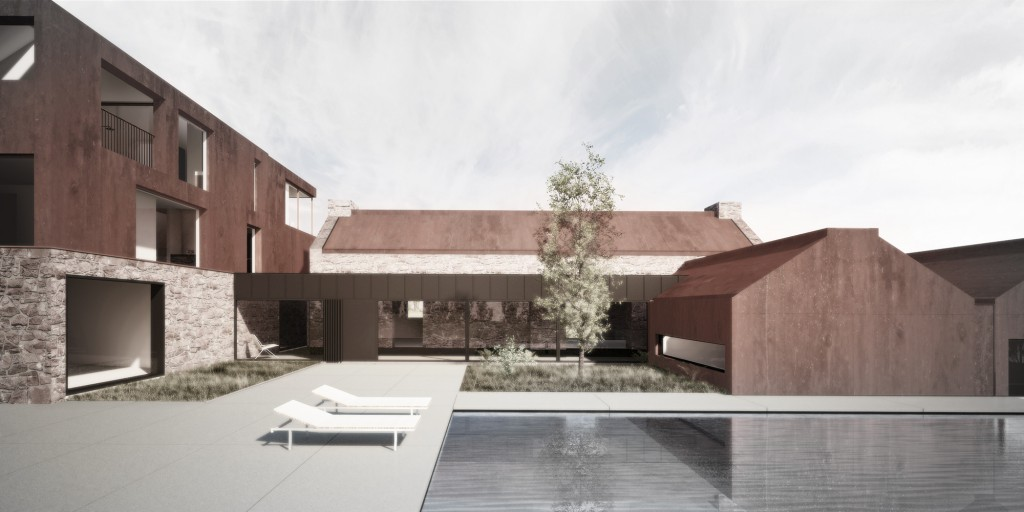 architectural visualisation london parc barn3