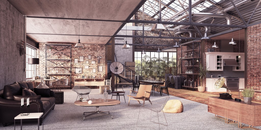 architectural visualisation london warehouse 0