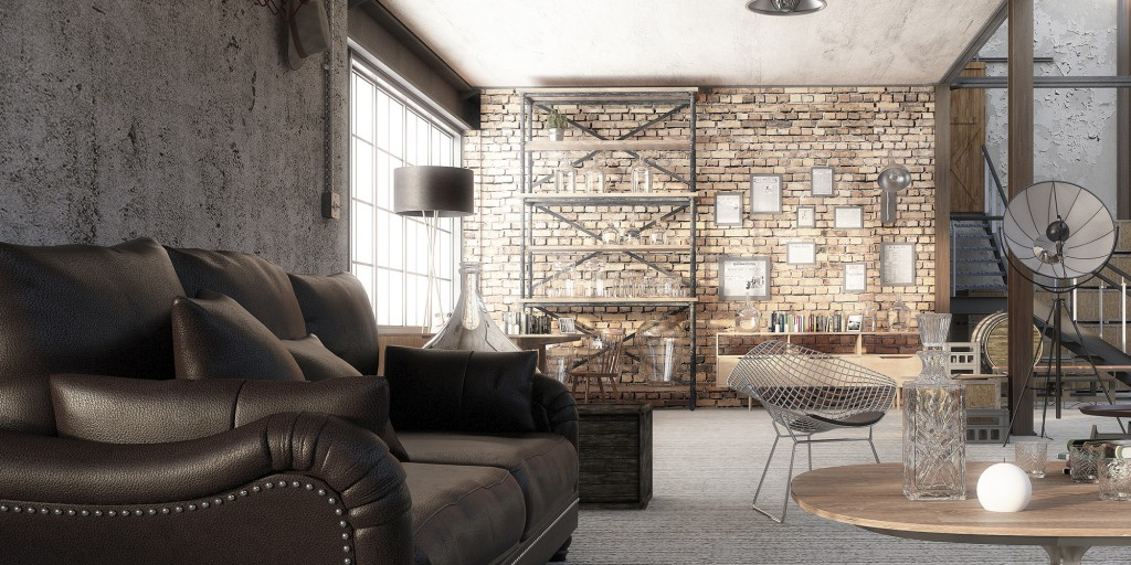 architectural visualisation london warehouse 1