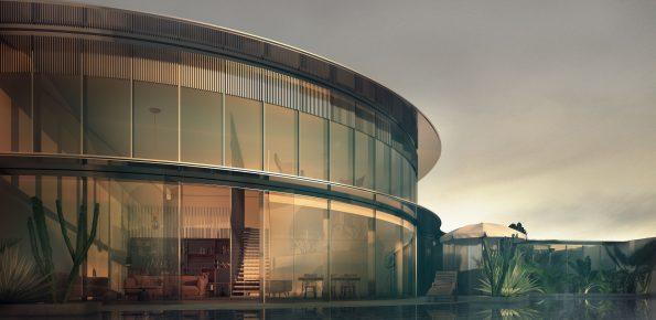 architectural visualization london villa 3d cgi