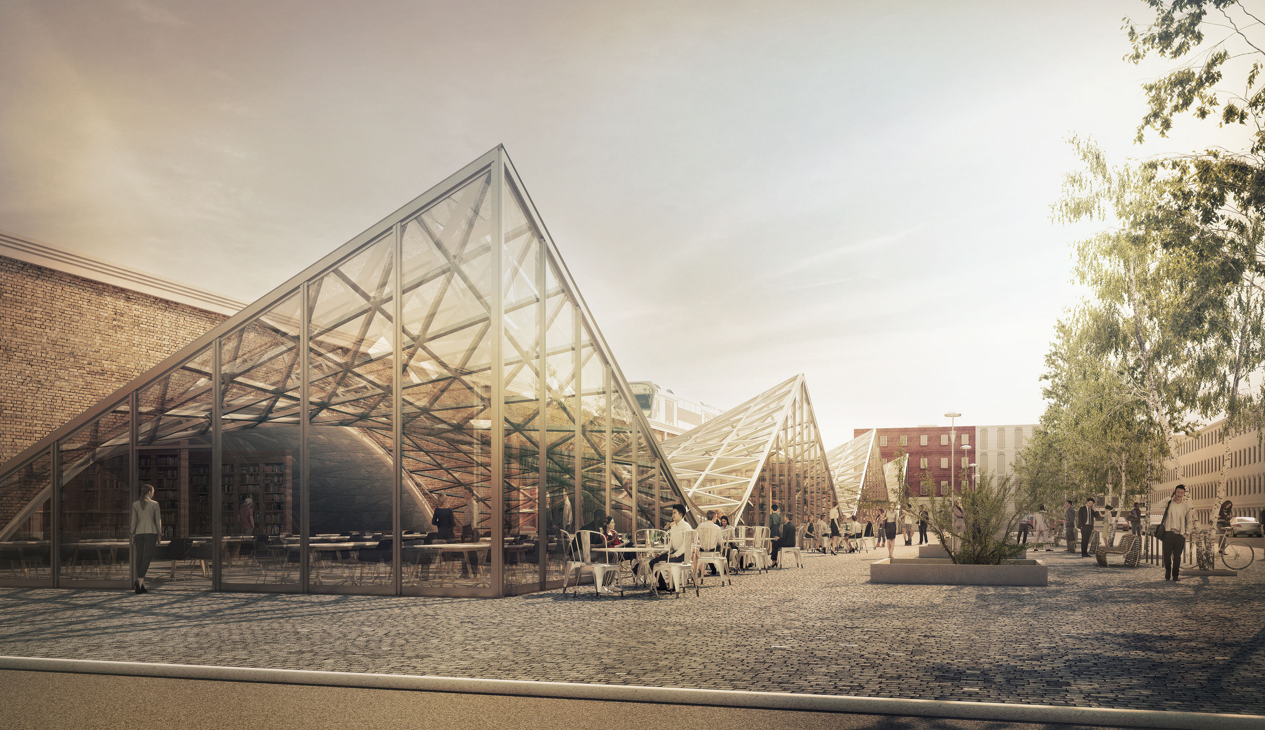 Hauptbahnhof vmavi - 3d architectural visualization ...