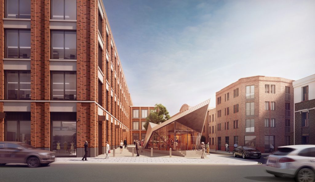 architectural visualisation london fruit wool 3D cgi VR studio