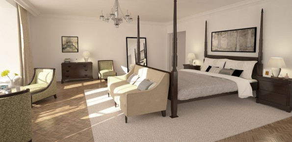 3D architectural visualisation london